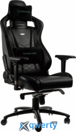NOBLECHAIRS Epic Series Black/Green (GAGC-074)