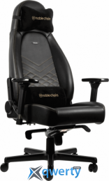 NOBLECHAIRS Icon Black/Gold (GAGC-102) купить в Одессе