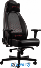NOBLECHAIRS Icon Black/Red (GAGC-089)