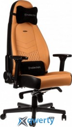 NOBLECHAIRS Icon Real Leather Cognac/Black (GAGC-091)