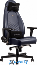 NOBLECHAIRS Icon Real Leather Midnight Blue (GAGC-092) купить в Одессе
