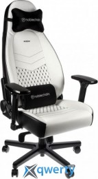 NOBLECHAIRS Icon White/Black (GAGC-126)