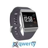 FITBIT IONIC WATCH BLUE GRAY / SILVER GRAY ONE SIZE ( S & L INCLUDED ) FB503WTGY