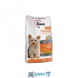 1st Choice (Фест Чойс) для пожилых или малоактивных собак мини и малых пород , 2.72 кг 1STDSMM2_72