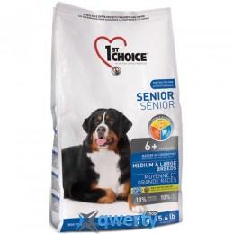 1st Choice (Фест Чойс) для пожилых или малоактивных собак средних и крупных пород , 7 кг. 1STDSCK7