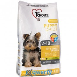 1st Choice Toy&Small Puppy Chicken ФЕСТ ЧОЙС ЩЕНОК МИНИ КУРИЦА для щенков мини и малых пород , 7 кг 1STDPMS7