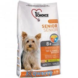 1st Choice (Фест Чойс) для пожилых или малоактивных собак мини и малых пород , 7 кг. 1STDSMM7