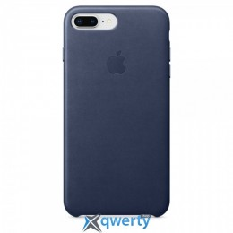 Apple iPhone 8 Leather Case (OEM) - Cosmos Blue
