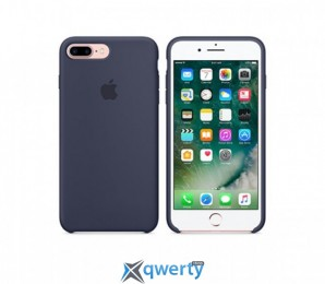 Apple iPhone 8 Leather Case (OEM) - Midnight Blue