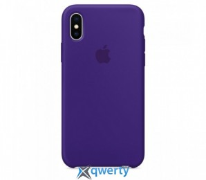 Apple iPhone X Silicone Case (OEM) - Ultra Violet