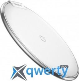 Беспроводное зарядное устройство Baseus iX Desktop Wireless Charger Silver (WXIX-0S)