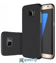 Пластиковая накладка Nillkin Synthetic Fiber series для Samsung G935F Galaxy S7 Edge
