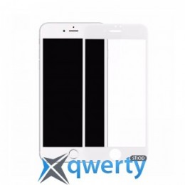 Baseus 0.2mm Silk-screen Printed Full-Screen Protector for iPhone 8/7 Whit