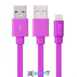 JUST Freedom Lightning USB (MFI) Cable Pink (LGTNG-FRDM-PNK)