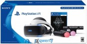 SONY PLAYSTATION VR V2 + PLAYSTATION CAMERA + PLAYSTATION MOVE + GAME SKYRIM
