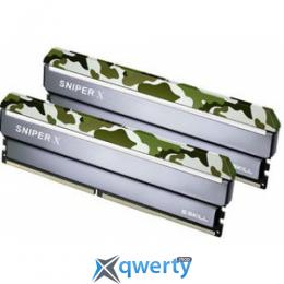 G.Skill DDR4 2400MHz 16GB (2x8) PC-19200 (F4-2400C17D-16GSXF) Sniper X Classic Camo