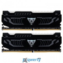 Patriot DDR4 2400MHz 16GB (2x8) PC-19200 (PVLW416G240C4K) Viper LED White