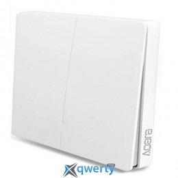 Aqara Wireless Switch (Wall-Attached Double-Button) (WXKG02LM)