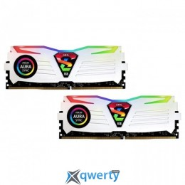 GeIL DDR4-2400 16GB PC4-19200 (2x8) Super Luce White RGB Sync (GLWS416GB2400C16DC)