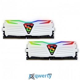 GeIL DDR4-3000 16GB PC4-24000 (2x8) Super Luce White RGB Lite (GLWC416GB3000C16ADC)