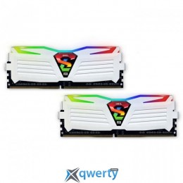 GeIL DDR4-3200 16GB PC4-25600 (2x8) Super Luce White RGB Lite (GLWC416GB3200C16ADC)