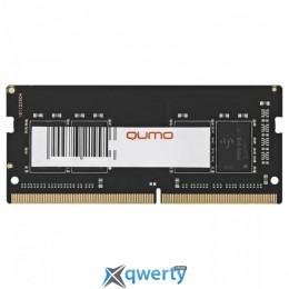 QUMO SODIMM DDR4-2400 4GB PC4-19200 (QUM4S-4G2400KK16)