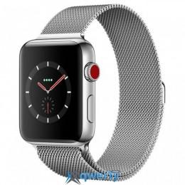 Apple Watch Series 3 GPS + LTE MR1R2 38mm Stainless Steel Case with Milanese Loop купить в Одессе
