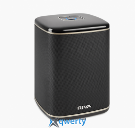 RIVA Arena Compact Multi-Room+ Wireless Speaker Black (RWA01B-UN)