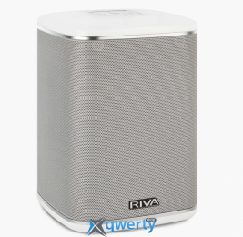 RIVA Arena Compact Multi-Room+ Wireless Speaker White (RWA01W-UN)