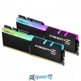 G.Skill DDR4-3200 32GB (2x16) PC-25600 (F4-3200C14D-32GTZR) Trident Z RGB