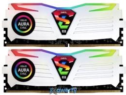 GEIL DDR4-2400 8GB (2x4) PC-19200 (GLWS48GB2400C16DC) Super Luce Black RGB Sync