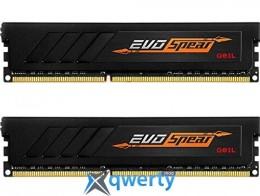 GEIL DDR4-3200 16GB (2x8) PC-25600 (GSB416GB3200C16ADC) EVO Spear