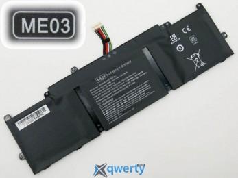 Батарея для ноутбука HP ME03 11.1V 37Wh Black