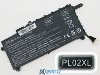 Батарея для ноутбука HP PL02XL 7.6V 29 Wh Black