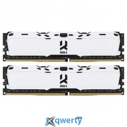 Goodram DDR4-3000 16GB PC4-24000 (2x8) IRDM X White (IR-XW3000D464L16S/16GDC)