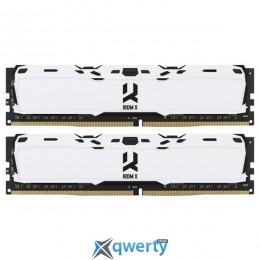 Goodram DDR4-3000 16GB PC4-24000 (2x8) IRDM X White (IR-XW3000D464L16S/16GDC)
