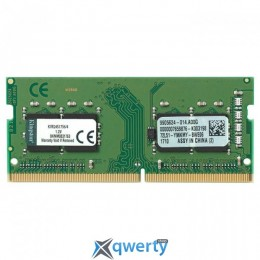 Kingston SODIMM DDR4-2400 4GB PC4-19200 ValueRAM (KVR24S17S6/4)