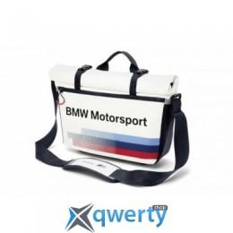 BMW Motorsport Messenger Bag, White/Team Blue 2017