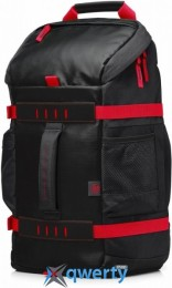 HP 15.6 Odyssey Sport Backpack black/red (X0R83AA)