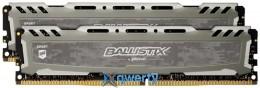Micron Crucial Ballistix Sport DDR4-2666 16GB (2x8) PC4-21300 (BLS2C8G4D26BFSBK)