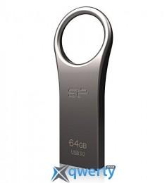 Silicon Power 64GB USB 3.0 Jewel J80 Titanium (SP064GBUF3J80V1T)