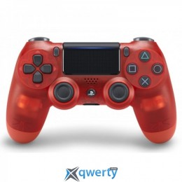 Джойстик DualShock 4 V2 Red Crystal