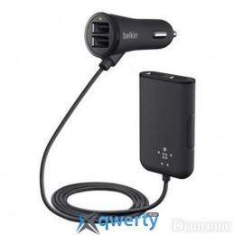 Belkin Road Rockstar USB Charger (2 USB x 2.4Amp + 2 USB x 1.2Amp), Черный (F8M935bt06-BLK)