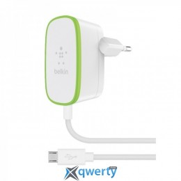 Belkin USB Home Charger (2.4Amp) c кабелем Micro-USB (F7U009vf06-WHT)