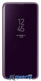 Samsung Clear View Standing Cover для смартфона Galaxy S9 (G960) Orchid Gray (EF-ZG960CVEGRU)