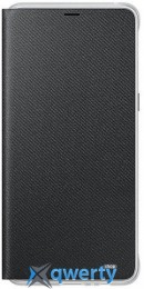 Samsung Neon Flip Cover для смартфона Galaxy A8+ 2018 (A730) Black (EF-FA730PBEGRU)