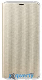 Samsung Neon Flip Cover для смартфона Galaxy A8+ 2018 (A730) Gold (EF-FA730PFEGRU)