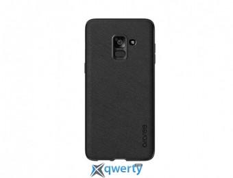 Samsung Silicon Cover для смартфона Galaxy A8+ 2018 (A730) Black (GP-A730KDCPBAA)