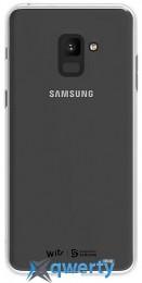 Samsung Soft Clear Cover для смартфона Galaxy A8+ 2018 (A730) Clear (GP-A730WSCPAAA)