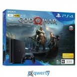 Sony PlayStation 4 Slim 1TB + God of War (2018)